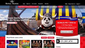 Royal Panda casino på nätet