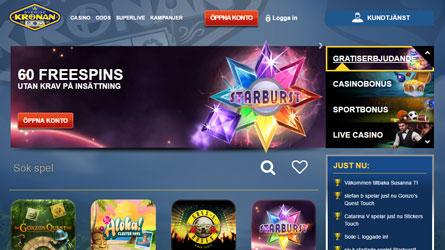 Sverige Kronan casino på nätet