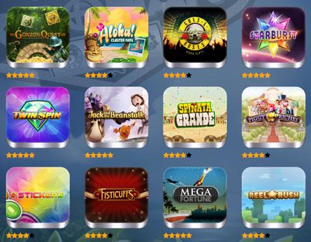 Spela Netent casino spel på Casino.com Sverige