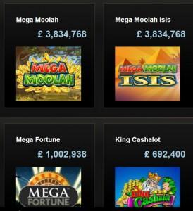 Olika populära jackpottspel som finns!