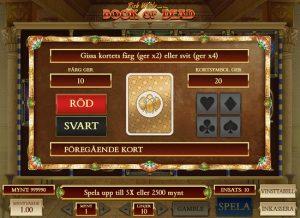 Dubbla eller fyrdubbla din vinst med GAMBLE Funktion!