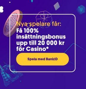 Sista chansen nu för 20 000 kr bonus på Casumo Casino?